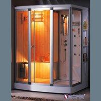 Phòng xông hơi Nofer SN-601R (xông hơi khô, xông hơi ướt)