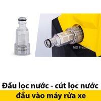 Phụ kiện máy rửa xe Kachi 1400W - Đầu lọc nước