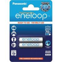 Pin panasonic eneloop aa 750 mah vỉ 2 viên - 004394