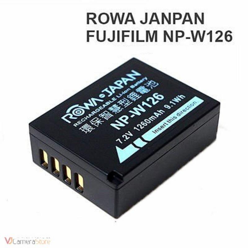 Pin Rowa Japan NP-W126 for Fujifilm