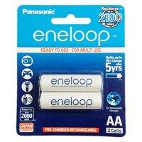Pin sạc AA Panasonic Eneloop 2000 mAh vỉ 2 viên