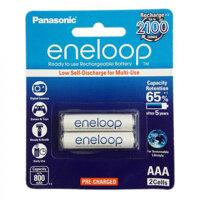 Pin sạc AAA Panasonic Eneloop 750 mAh vỉ 2 viên