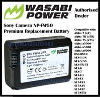 Pin Wasabi FW50 cho A7, A6000 Nex E-Mount (Pin Wasabi FW50)