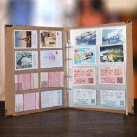Polaroid Album Ảnh Vé Xem Phim Sổ Lưu Trữ Giấy Lưu Trữ 3-Inch Album Vé Sổ Sưu Tập