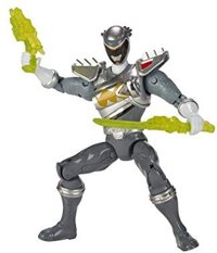 """Power Rangers Dino Super Charge - 5"""" Dino Drive Graphite Ranger Action Figure"""
