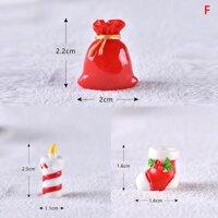 Qinyu Giáng Sinh Thu Nhỏ Ông Già Noel Người Tuyết Chó Kéo Xe Tuần Lộc Tượng Hình Tuyết Phong Cảnh