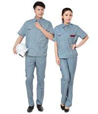 Quần áo bảo hộ lao động hk 48