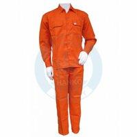 quần áo kaki LDHQ màu cam điện lực