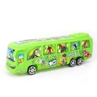 Quán tính bán chạy bằng nhựa Xe buýt địa hình cho bé trai và bé gái 2 gói