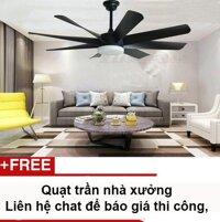Quạt Trần Công Nghiệp Quạt Trần khu nghỉ dưỡng resort quạt trần nhà hàng với sải cánh 58inch Hengshengli LB-C581 (với 3 màu đen trắng vàng)