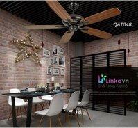 Quạt trần không đèn 5 cánh gỗ cao cấp LINKA LI-QAT048 – Phong cách sang trọng đẳng cấp