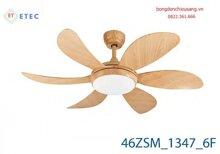 Quạt trần 46ZSM-1347C-6F