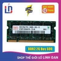 Ram Laptop 2GB DDR2 bus 667/800 PC2-5300S/6400s (nhiều hãng)samsung hynix kingston.