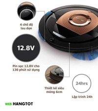 Robot hút bụi thông minh Philips FC8776 - Hàng nhập khẩu giống Robot Hút Bụi Thông Minh Xiaomi Mi Roborock Gen 2 - S50 / S51 / S52 / S55