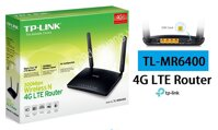 Router Wi-Fi 4G LTE chuan N toc do 300Mbps TL-MR6400