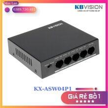 Switch POE Kbvision KX-ASW04P1 - 4 cổng