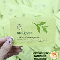 SAMPLE SỮA RỬA MẶT TRÀ XANH INNISFREE GREEN TEA