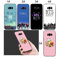 Samsung Galaxy S9 S8 Plus S7 S6 Note 8 9 Soft Case BTS Cute Art