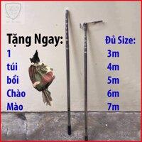 Sào Rút Inox Sào bẫy chim Đa năng 3m 4m 5m 6m 7m.... Sào treo chim sào rút nhôm sào rút 7m sào bẫy chim sẻ - DULI