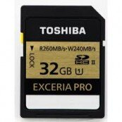 SDHC Toshiba EXCERIA PRO UHS-II 32Gb