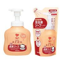 Set sữa tắm Arau baby chai 450ml + túi 400ml