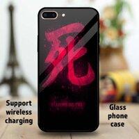 Shinobi S Vận Mệnh Tùy Chỉnh Kính Cường Lực Điện Thoại Ốp Lưng Cho Apple iPhone 11 Pro Max 6 6S 7 8 Plus XR XS Samsung Galaxy Note S9 s10 + Huawei Mate P20 Oppo Vivo Xiaomi Redmi Note 7