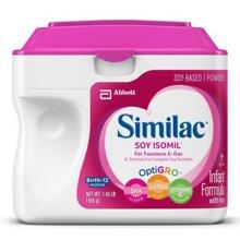 Sữa bột Abbott Similac Soy Isomil - hộp 658g (dành cho trẻ từ 0-12 tháng tuổi)