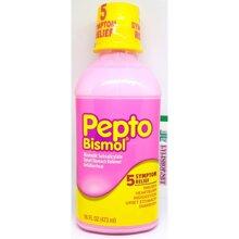 Siro trị đau bao tử và tiêu chảy Pepto Bismol 473ml