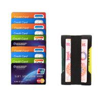 Slim Wallet Clip Aluminium Alloy Credit Card Case Portable ID Passport Card Holder Metal Wallet