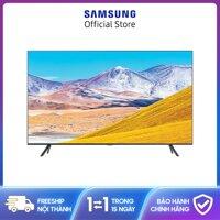 Smart Tivi Samsung 4K 82 Inch UA82TU8100 ,2020, Hệ Điều Hành Tizen OS,Tìm kiếm giọng nói