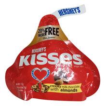 Chocolate Hershey's Kisses sữa bọc hạnh nhân
