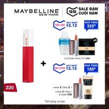 Son Kem Chuẩn Lì Giữ Màu 16h Maybelline New York Super Stay Matte Ink City Edition 5ml