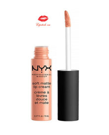 Son màu NYX Soft Matte Lip Cream Athens SMLC 15