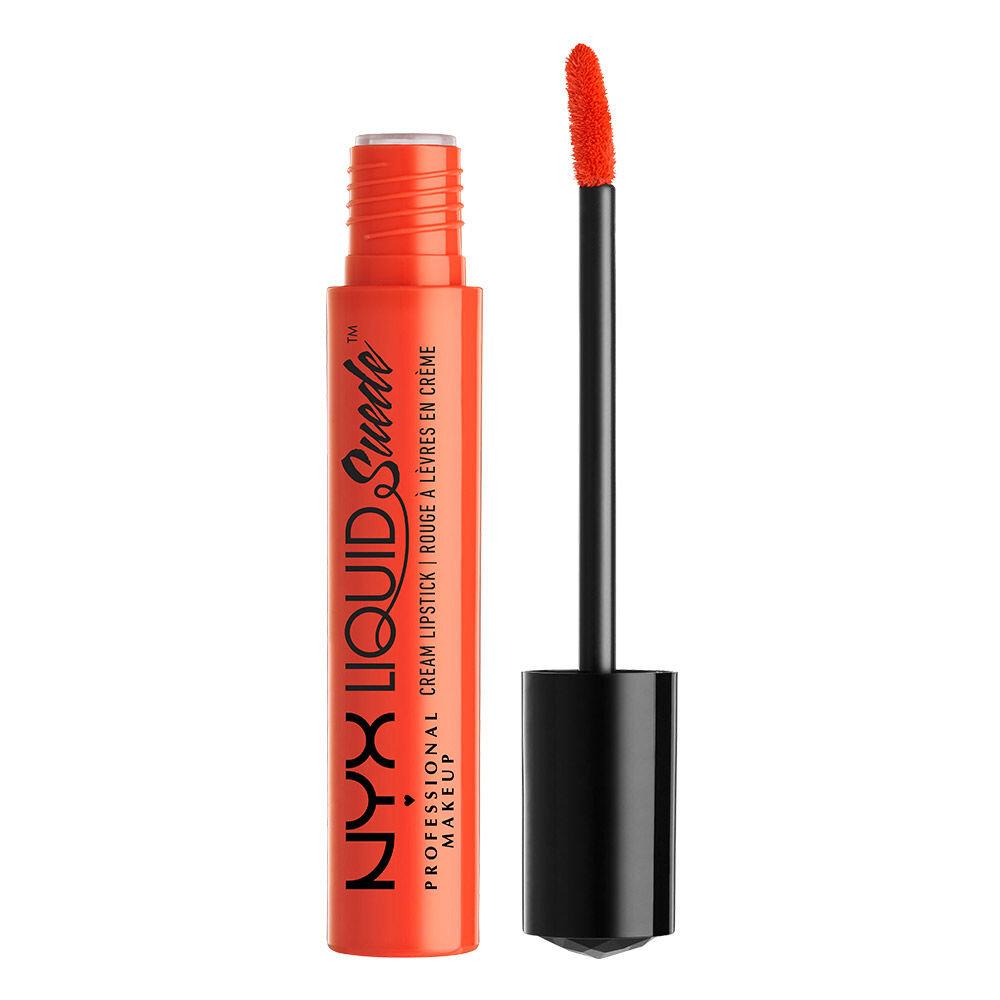 Son lì dạng kem NYX Liquid Suede Cream Lipstick LSCL05 Orange County