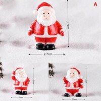 Sporter Giáng Sinh Thu Nhỏ Ông Già Noel Người Tuyết Chó Kéo Xe Tuần Lộc Tượng Hình Tuyết Phong Cảnh