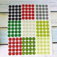 Sticker nhân bánh trung thu