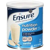 Sữa bột Ensure 397gram (hương Vanilla)