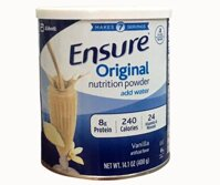 Sữa bột Ensure Original Nutrition Powder Add Water của Mỹ