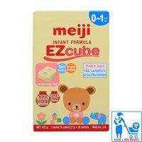 Sữa Bột Meiji Thanh 0-1 Infant Formula EZcube Hộp 432g (Cho trẻ 0~1 tuổi)