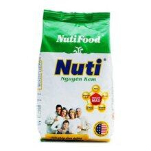 Sữa bột Nutifood Nuti nguyên kem - hộp 400g (dạng túi dành cho mọi lứa tuổi)