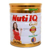 Sữa bột NutiFood Nuti IQ Mum Gold hương vani 900g