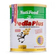 Sữa bột Nutifood Nuti PediaPlus - hộp 400g (dành cho trẻ từ 1 - 10 tuổi)