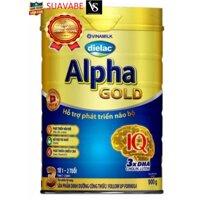 Sữa bột Vinamilk Dielac Alpha Gold 3 900g (Hộp thiếc)