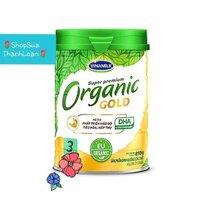 Sữa dinh dưỡng công thức vinamilk organic gold 3 - hộp 850g