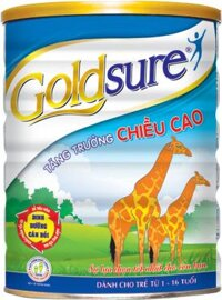 SỮA GOLDSURE TĂNG TRƯỞNG CHIỀU CAO LON 900G