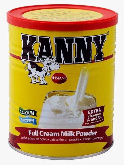 Sữa bột nguyên kem Kanny - hộp 900g
