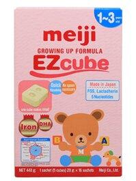 Sữa Meiji thanh 1-3 tuổi Growing up Formula EZCube 448g