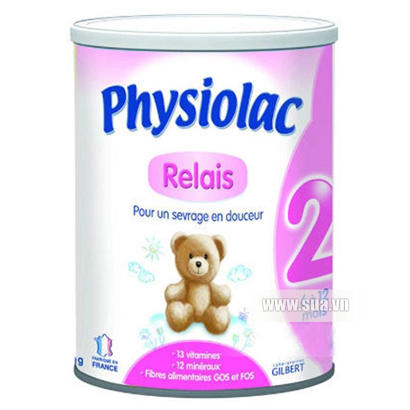 Sữa bột Physiolac 2ER - hộp 400g
