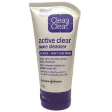Sữa rửa mặt ngăn ngừa mụn Clean & Clear Active Clear Acne Cleanser 50g
