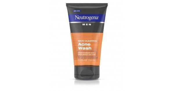 Sữa rửa mặt nam Neutrogena Men Skin Clearing Acne Wash